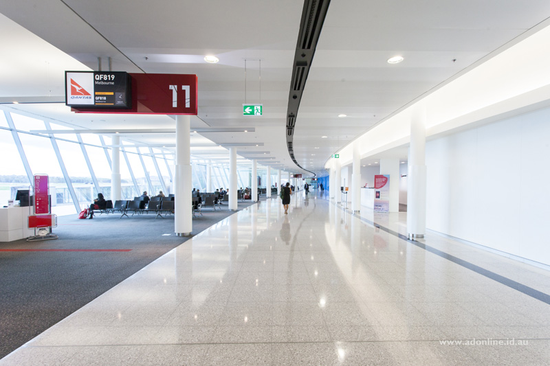 Qantas Gate 11.