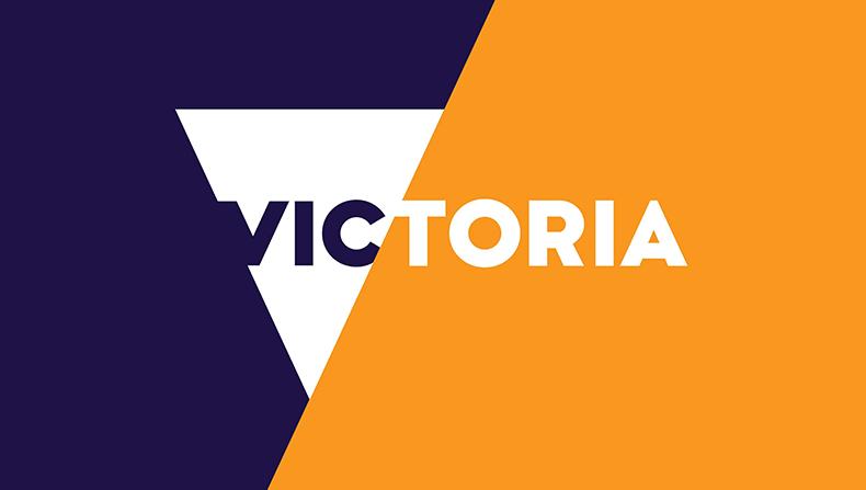 "The coloured version of ""Brand Victoria"""