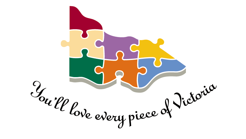 "The ""You'll love every piece of Victoria"" logo that will be replaced."