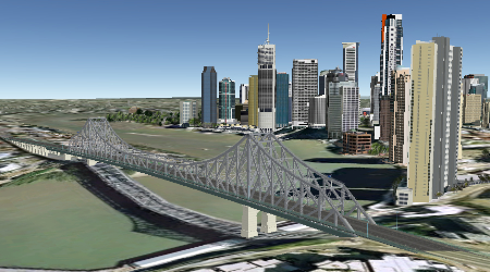render of brisbane qld australia