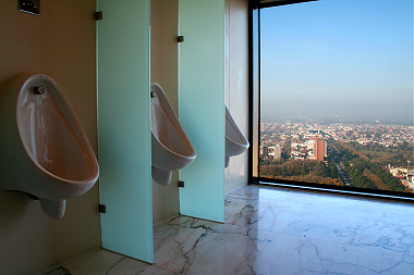 melbourne s loo with a view the grapevine. Black Bedroom Furniture Sets. Home Design Ideas