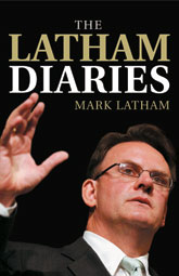 The cover of The Latham Diaries