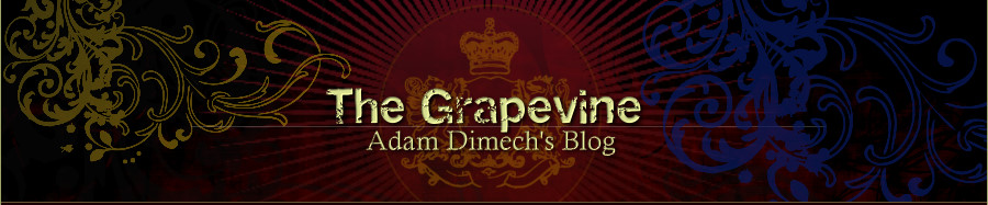 The Grapevine: Adam Dimech's blog
